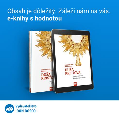 Saleziánske Vydavateľstvo DON BOSCO rozšírilo svoju ponuku e-kníh, ponúka ich aj zadarmo
