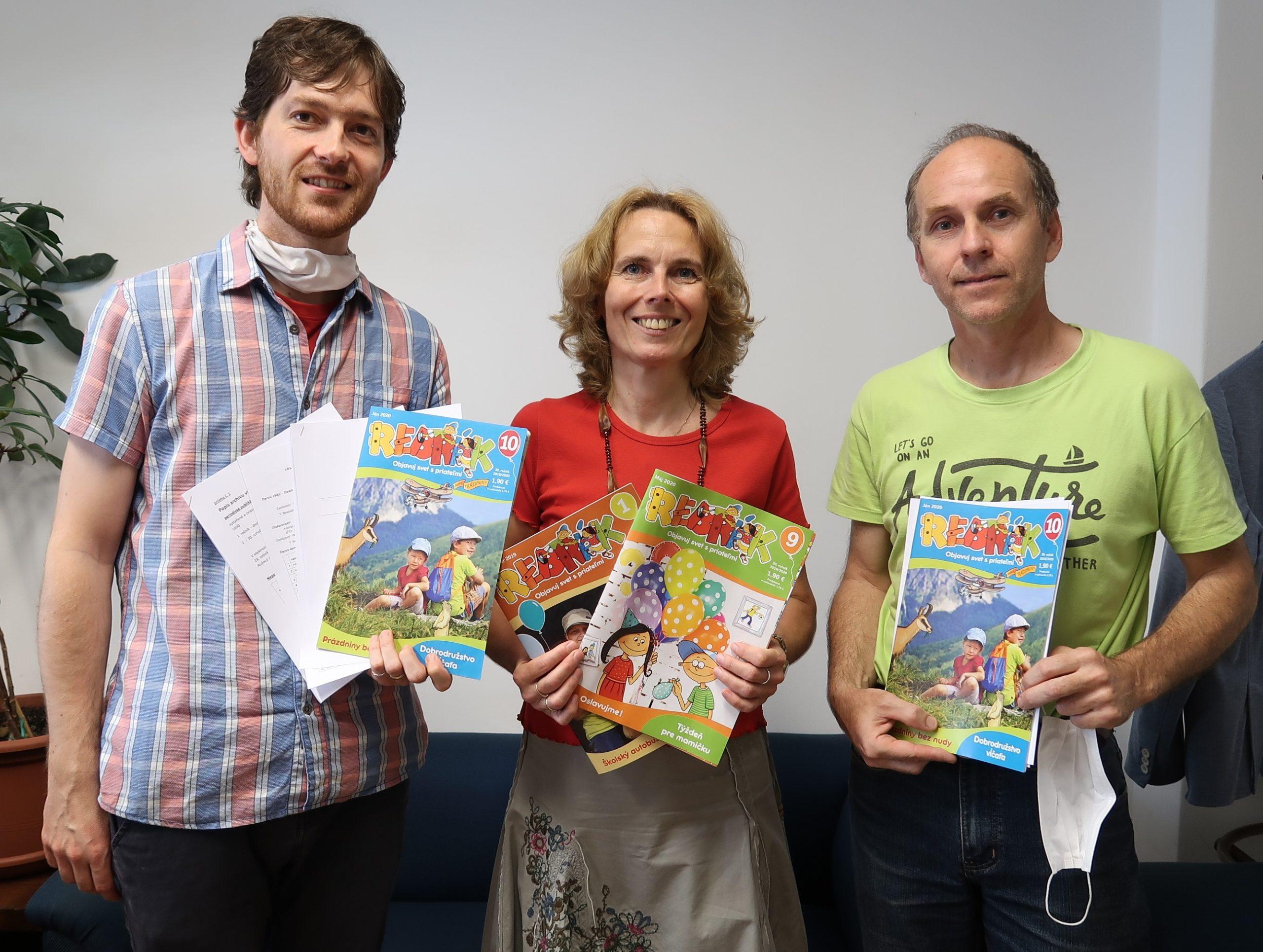 Na deťoch nám záleží, preto spájame sily. Časopis REBRÍK bude mať nového vydavateľa.