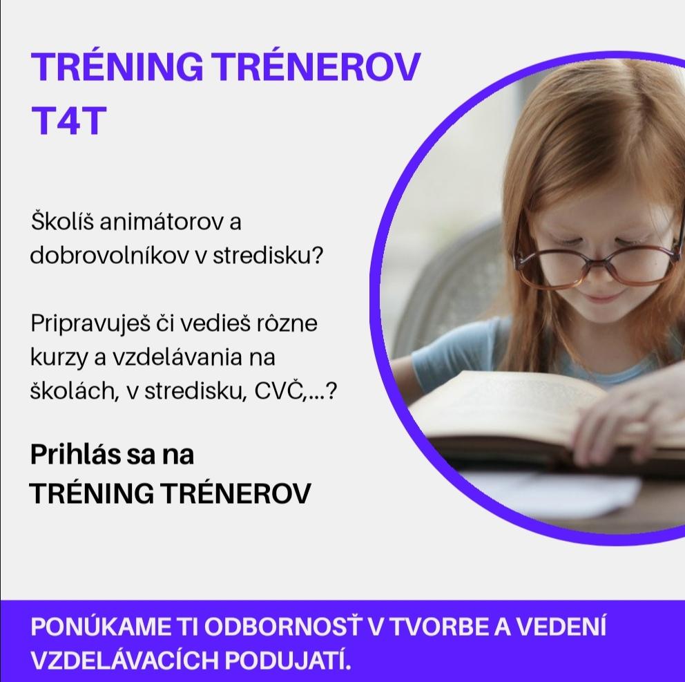 Tréning trénerov (T4T)