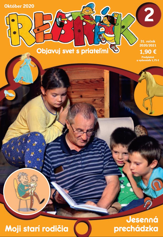 """Októbrové číslo časopisu Rebrík s témou """"moji starí rodičia"""". Každý vek je nádherný!"""