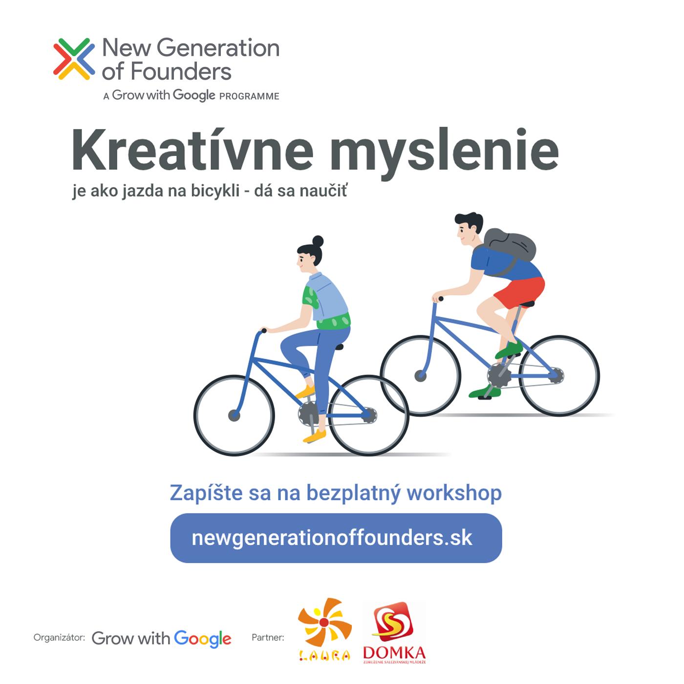 Saleziánsky pastoračný tím v spolupráci s New Generation of Founders ponúka Školenie Design Thinking od Grow with Google.